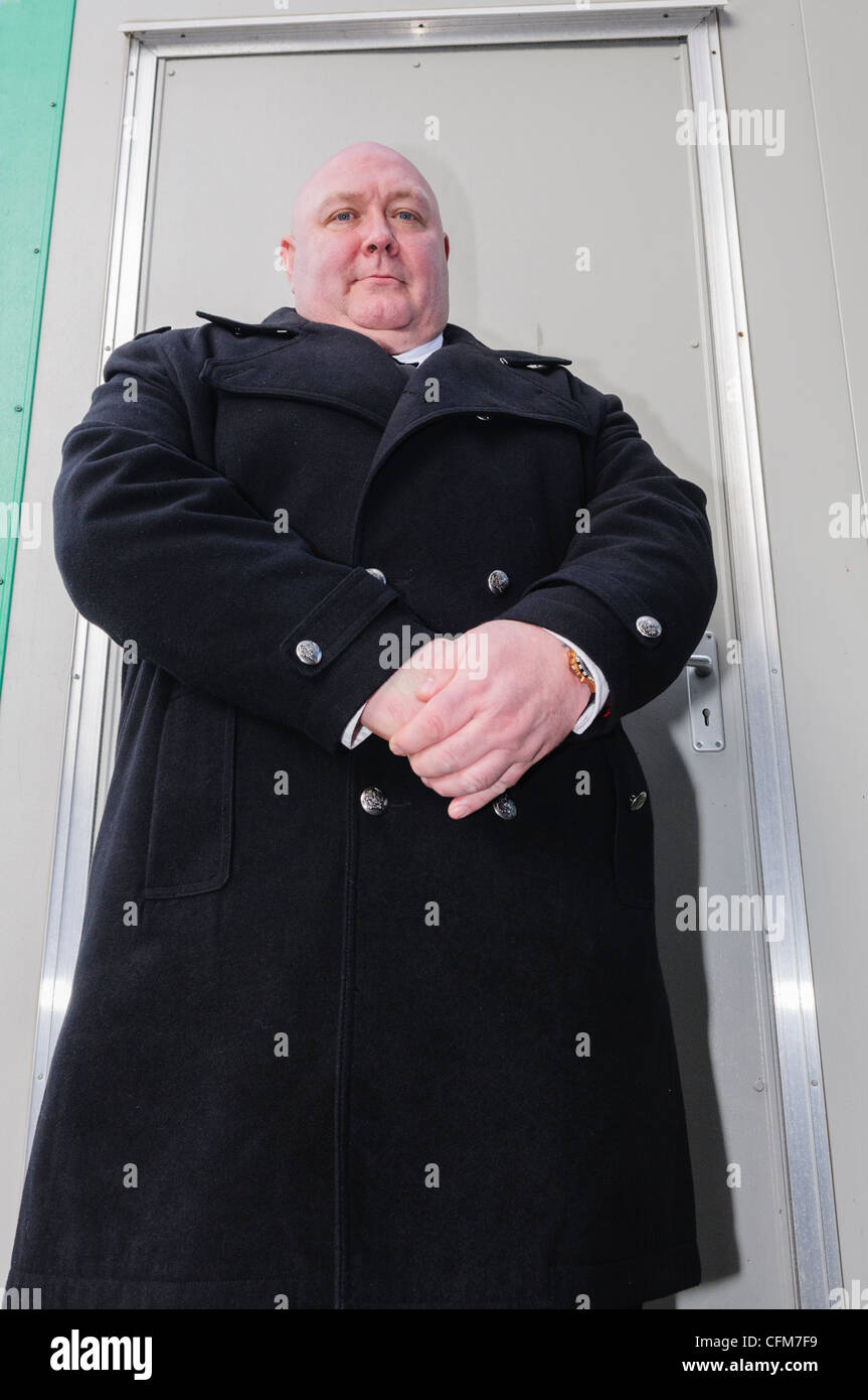 bouncer bodyguard doorman stock photos bouncer bodyguard doorman