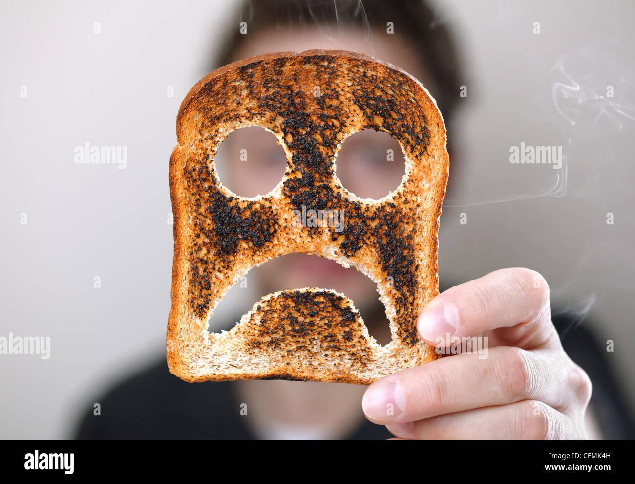 Monday morning problems - Stock Image