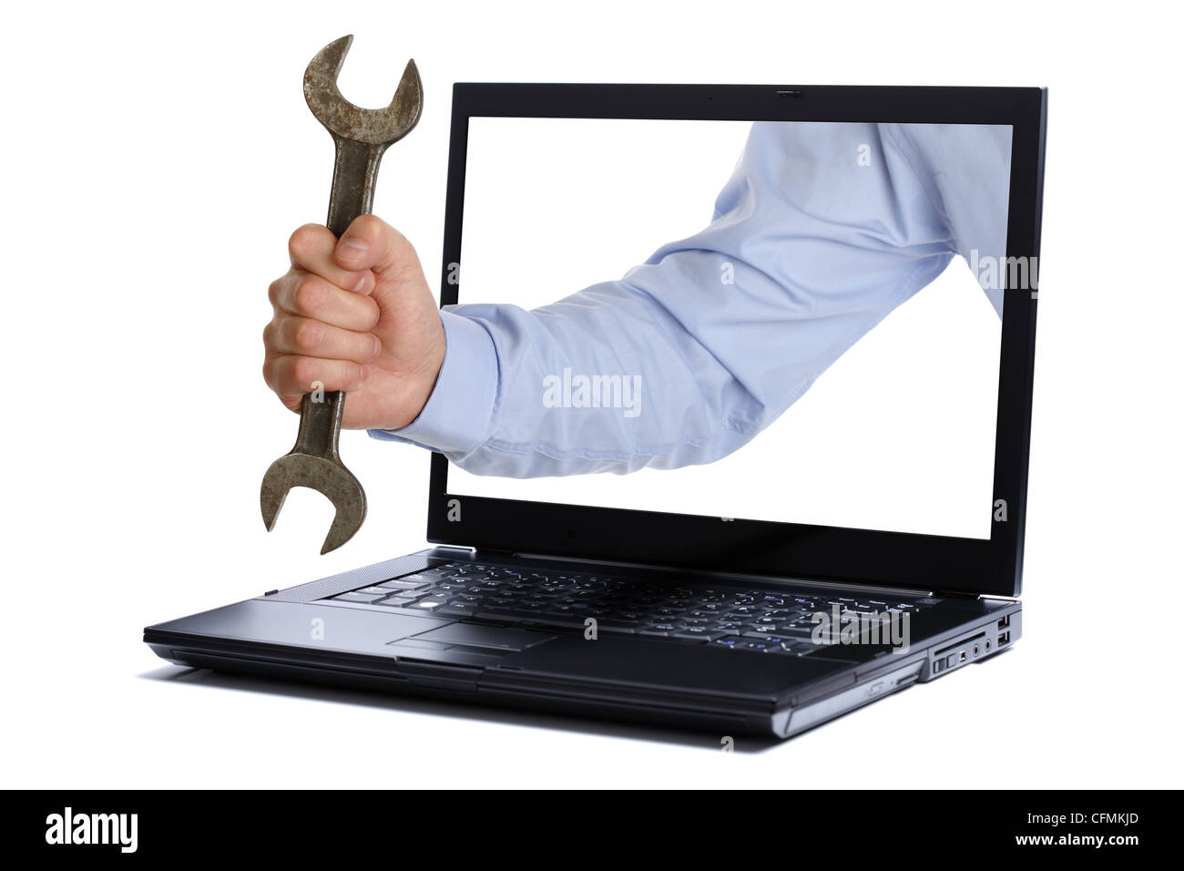 IT support engineer - Stock Image