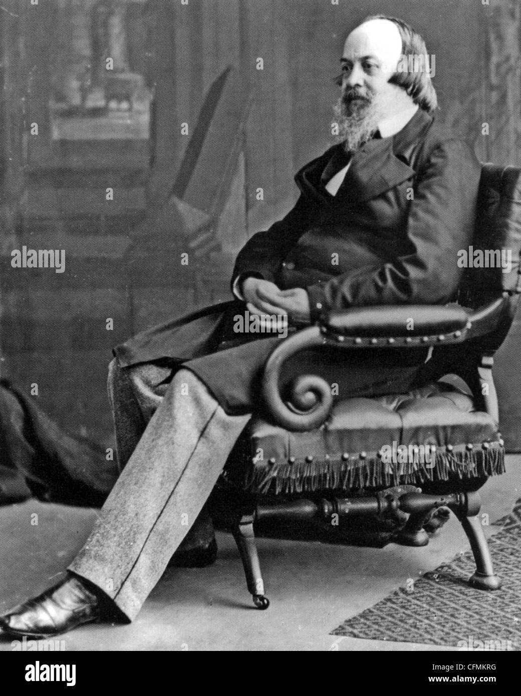 EDWIN CHADWICK (1800-1890) English social reformer who improved pubic health - Stock Image