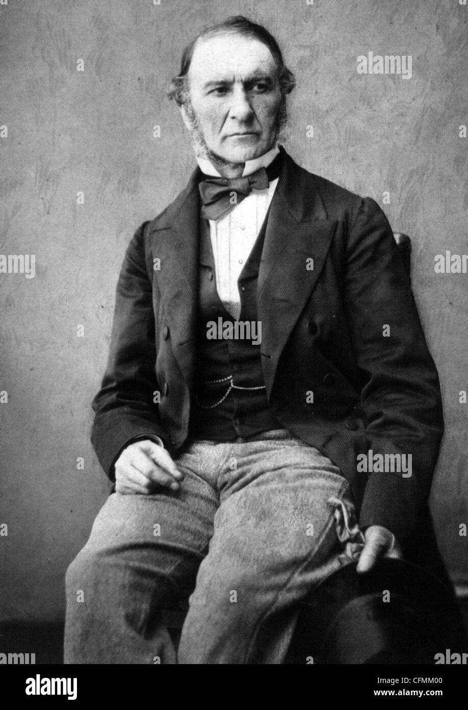 WILLIAM GLADSTONE (1809-1898) British Liberal statesman Stock Photo
