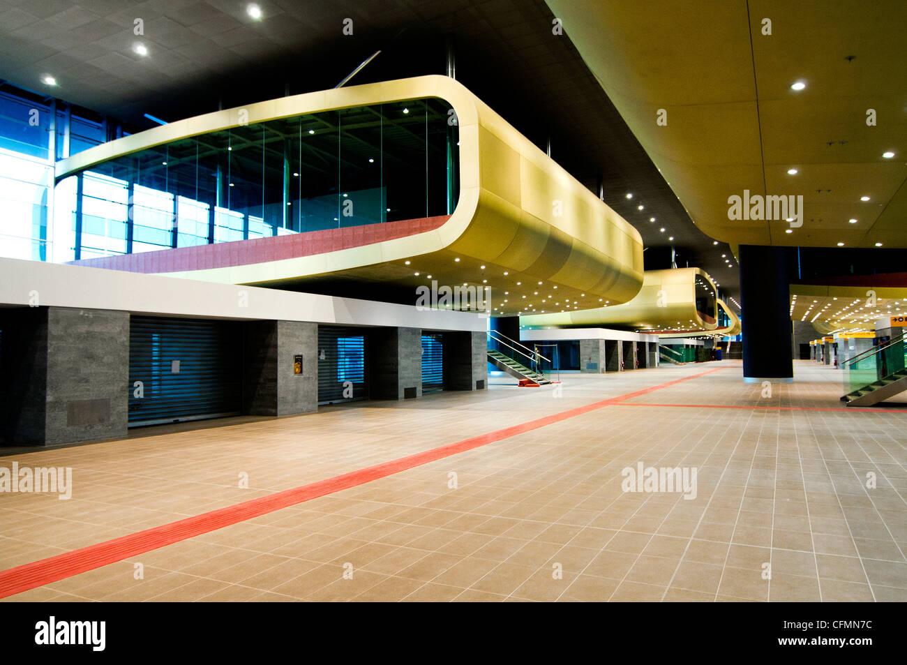New Tiburtina railway station, Rome Italy Stock Photo