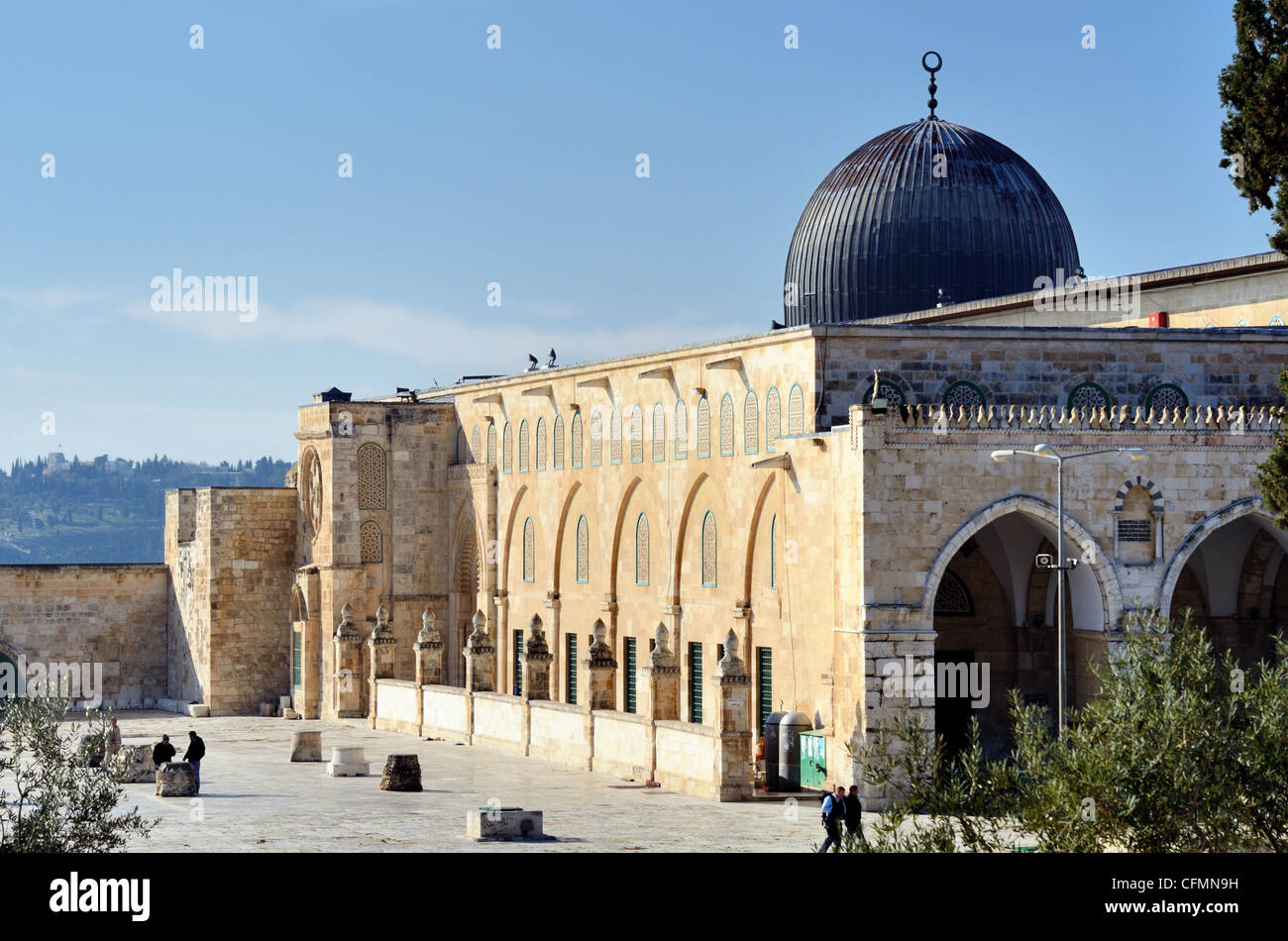 Al Aqsa Mosque in Jerusalem, the 3rd holiest site in Islam. - Stock Image