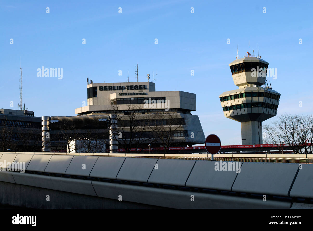 The Airport Berlin-Tegel, Otto Lilienthal Stock Photo