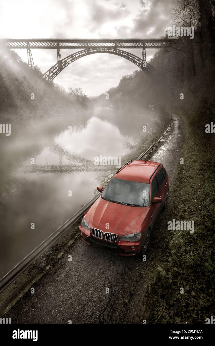 BMW X5 CGI Stock Photo