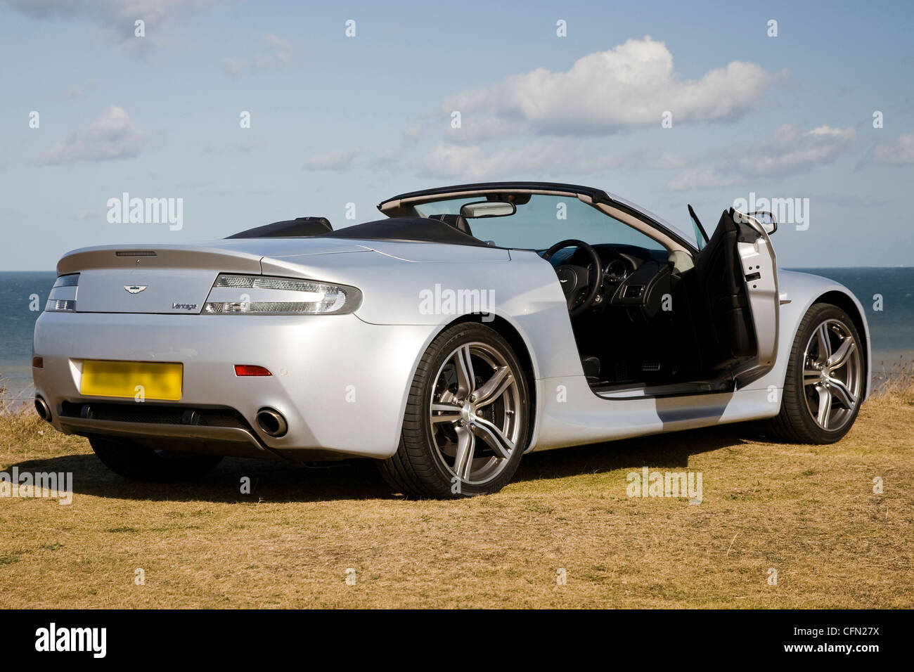 Aston Martin V8 Vantage On Location High Resolution Stock Photography And Images Alamy