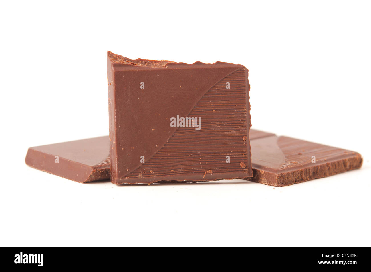 Chocolate bars - Stock Image