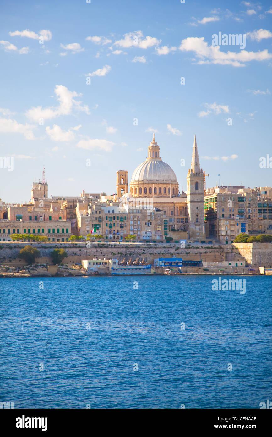 Valletta, Malta, Mediterranean, Europe Stock Photo