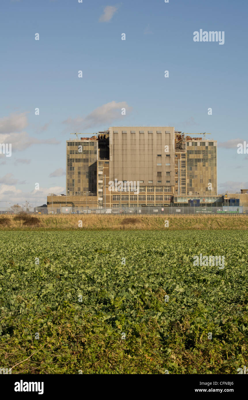Decommissioning at Bradwell Power Station - Stock Image
