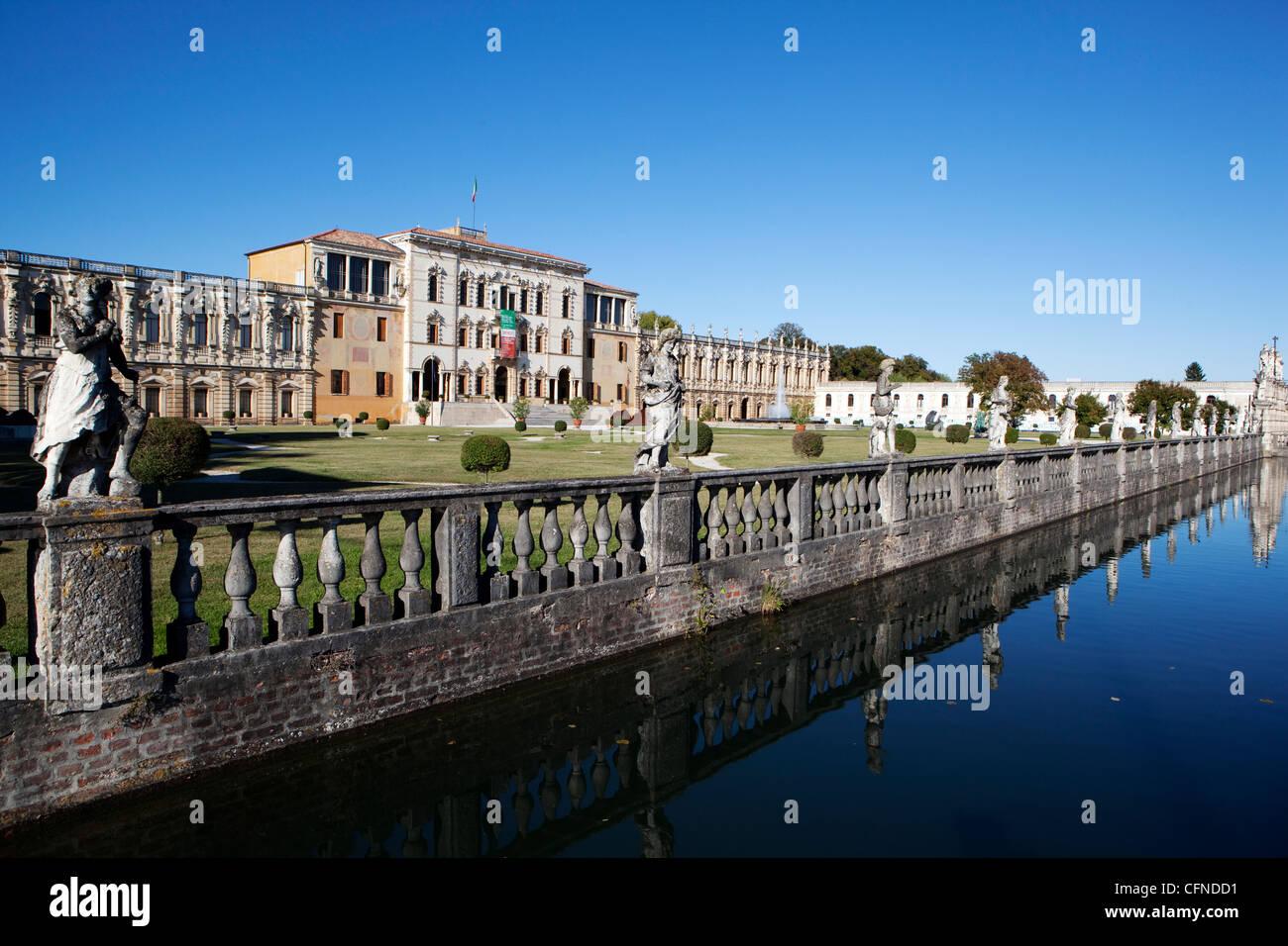 Villa Contarini, Vicenza, Veneto, Italy, Europe - Stock Image