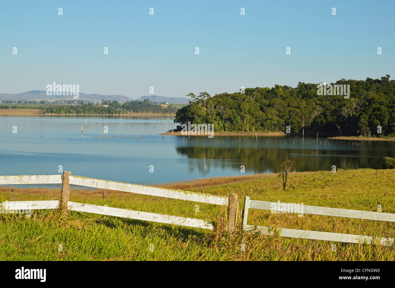 Lake Tinaroo, Atherton Tableland, Queensland, Australia, Pacific - Stock Image