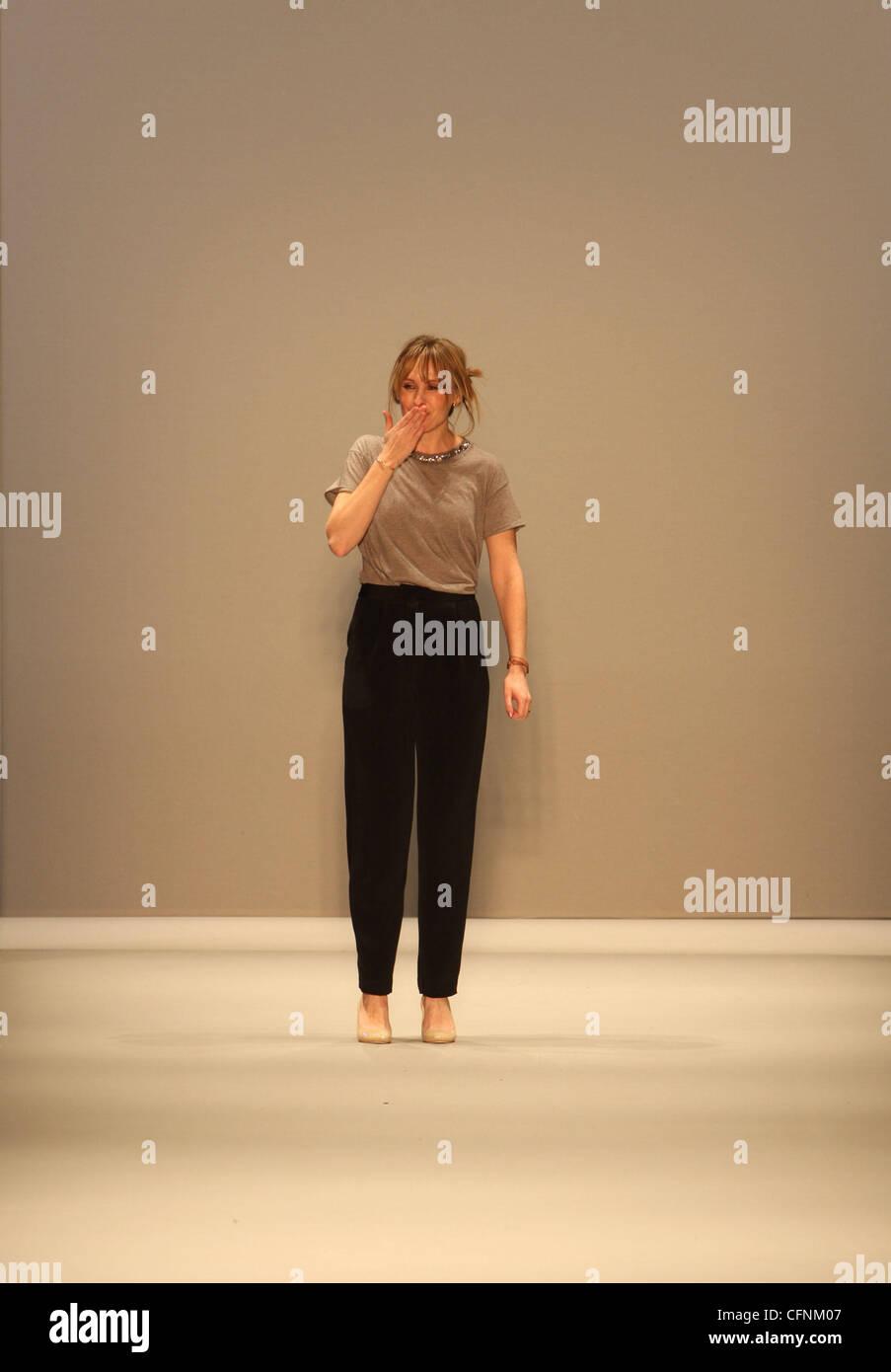 Designer Rebecca Taylor Mercedes Benz Img New York Fashion Week Fall Stock Photo 44117255 Alamy