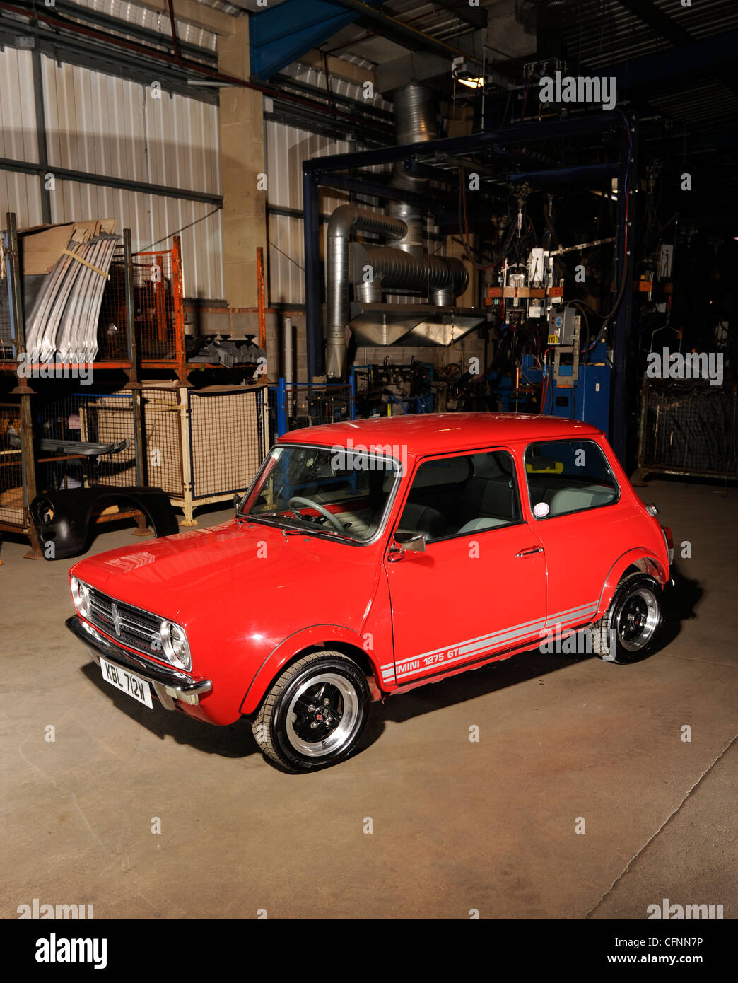 1980 Austin Mini 1275 GT - Stock Image