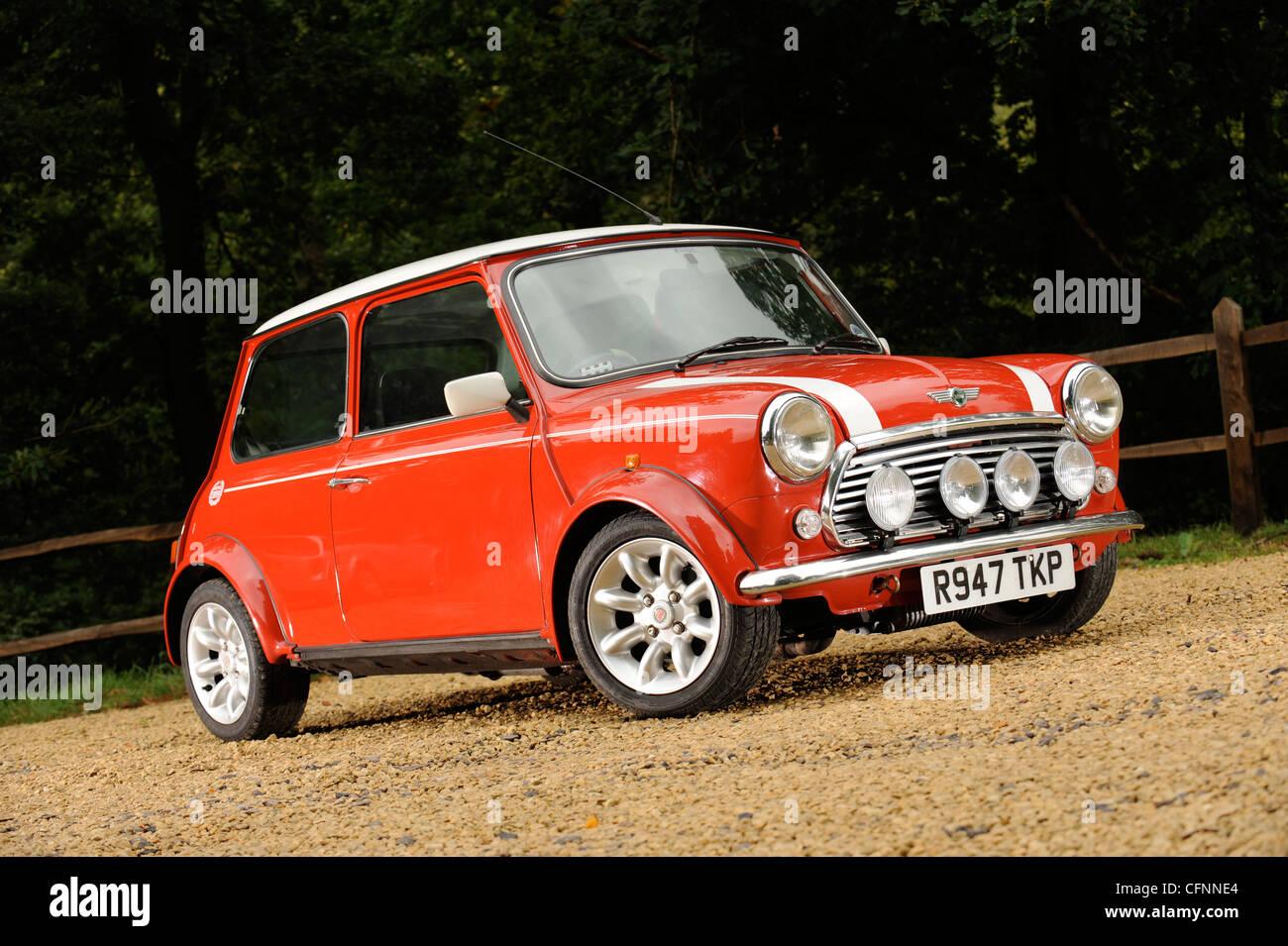 Rover Mini Cooper Car Stock Photos Rover Mini Cooper Car Stock