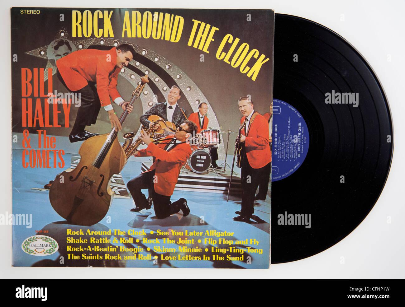 Bill Haley U0026 The Comets, Rock Around The Clock Album Cover ...