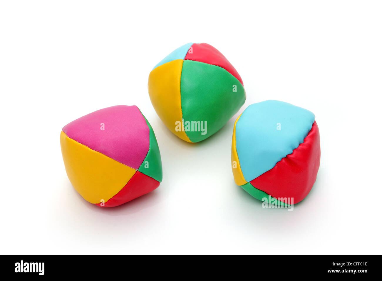 Juggling Balls, Tony Rusecki - Stock Image