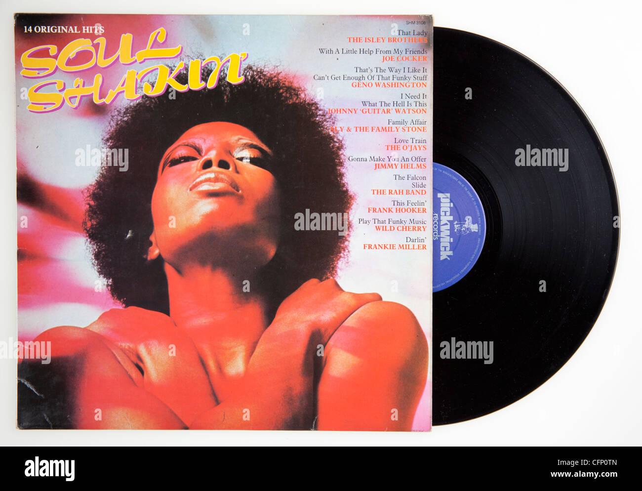 Soul Shakin compilation Stock Photo