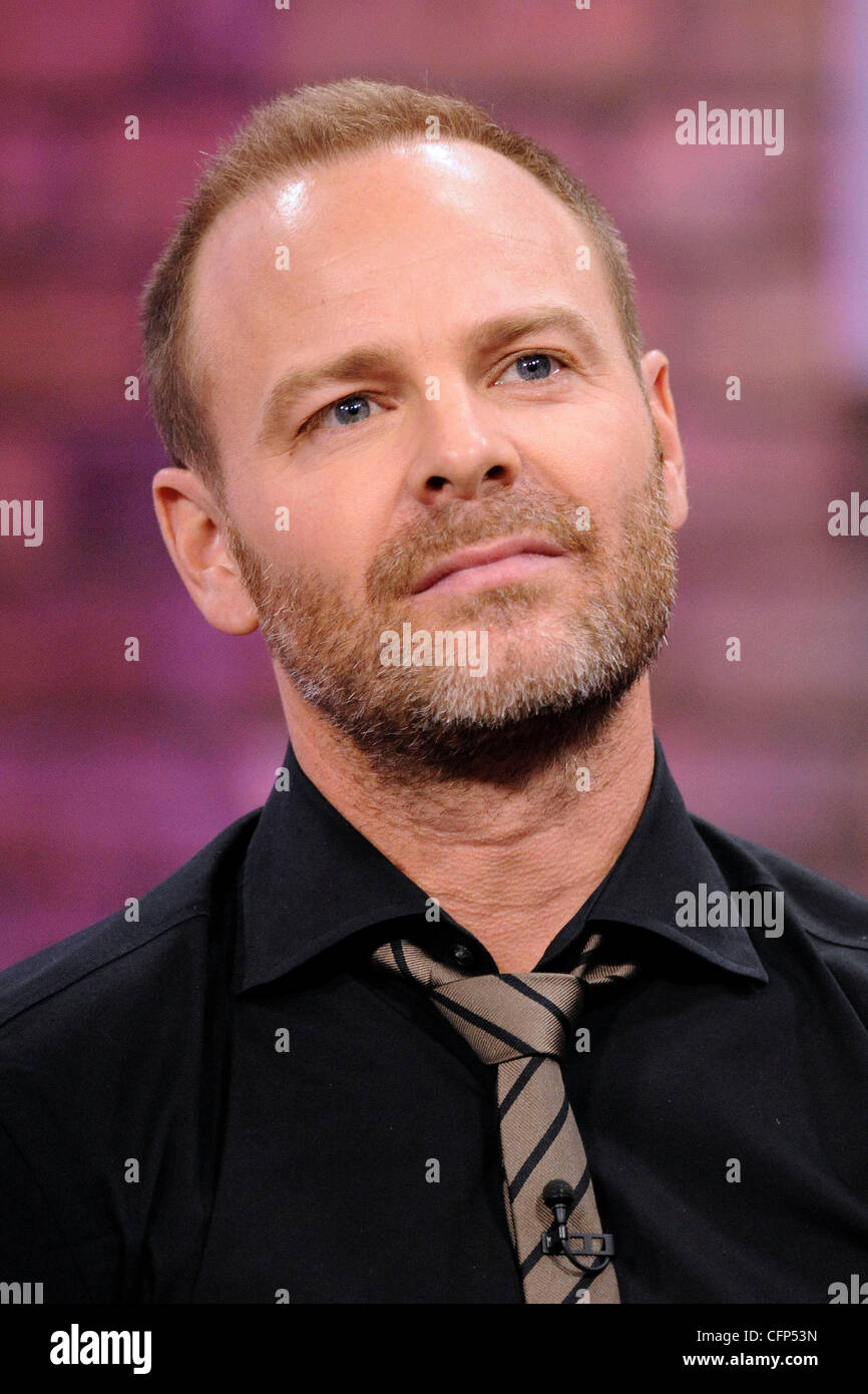 Actor Michael Cram of Flashpoint appearing on CTV's The Marilyn Denis Show Toronto, Canada - 01.02.2011 - Stock Image