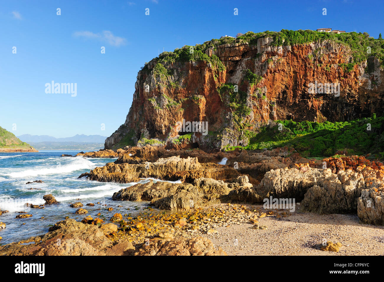 The Heads at Knysna on the Garden Route, Western Cape, South Africa ...