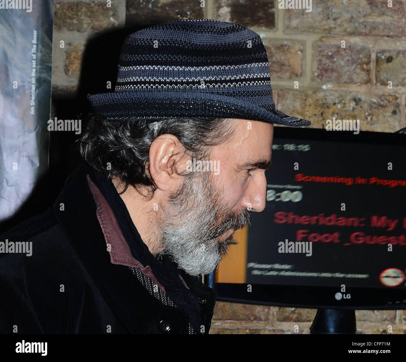 Daniel Day-Lewis at a screening: 'My Left Foot' at the start of the Jim Sheridan In Focus Season at The - Stock Image