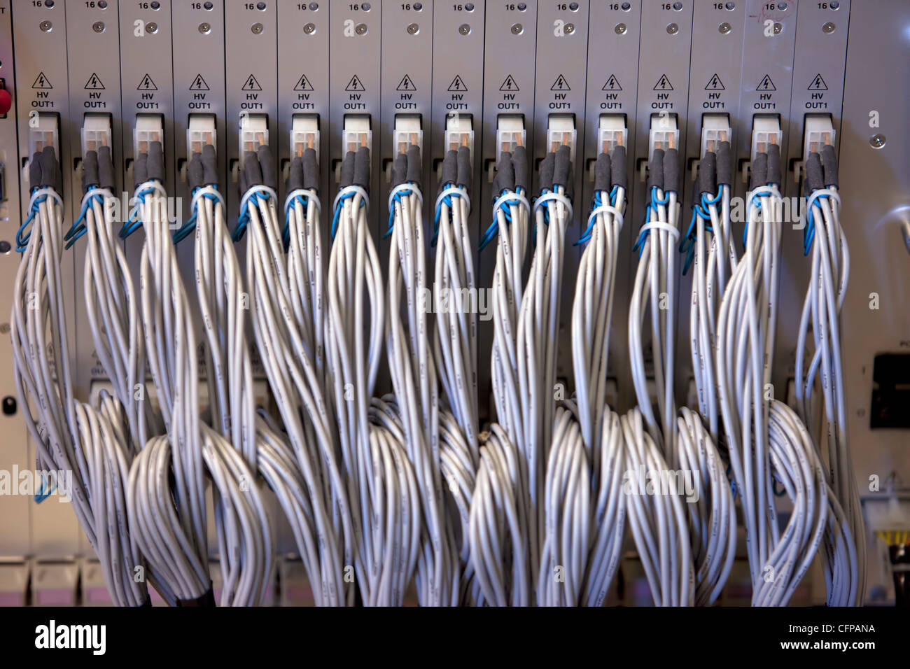 Wiring Harness Stock Photos Images Alamy Wire Engineering Cosmic Ray Fluorescence Detectors Mirror Array Scientific Observatory Electronic Equipment In Delta