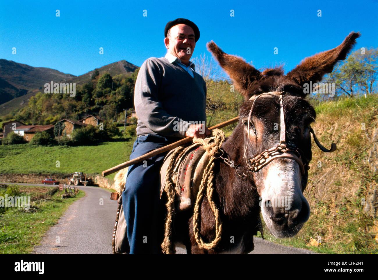 Proacina. Proaza. Asturias. Stock Photo