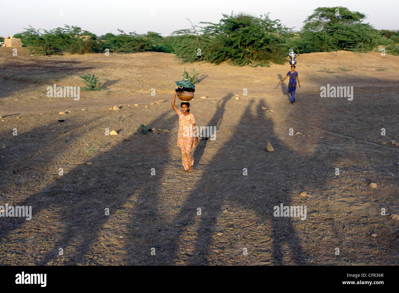 Niños en Jaisalmer. India. Stock Photo