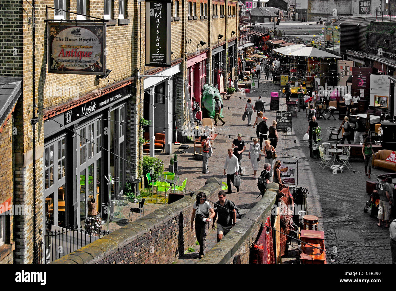 Candem Town. Londres. Stock Photo