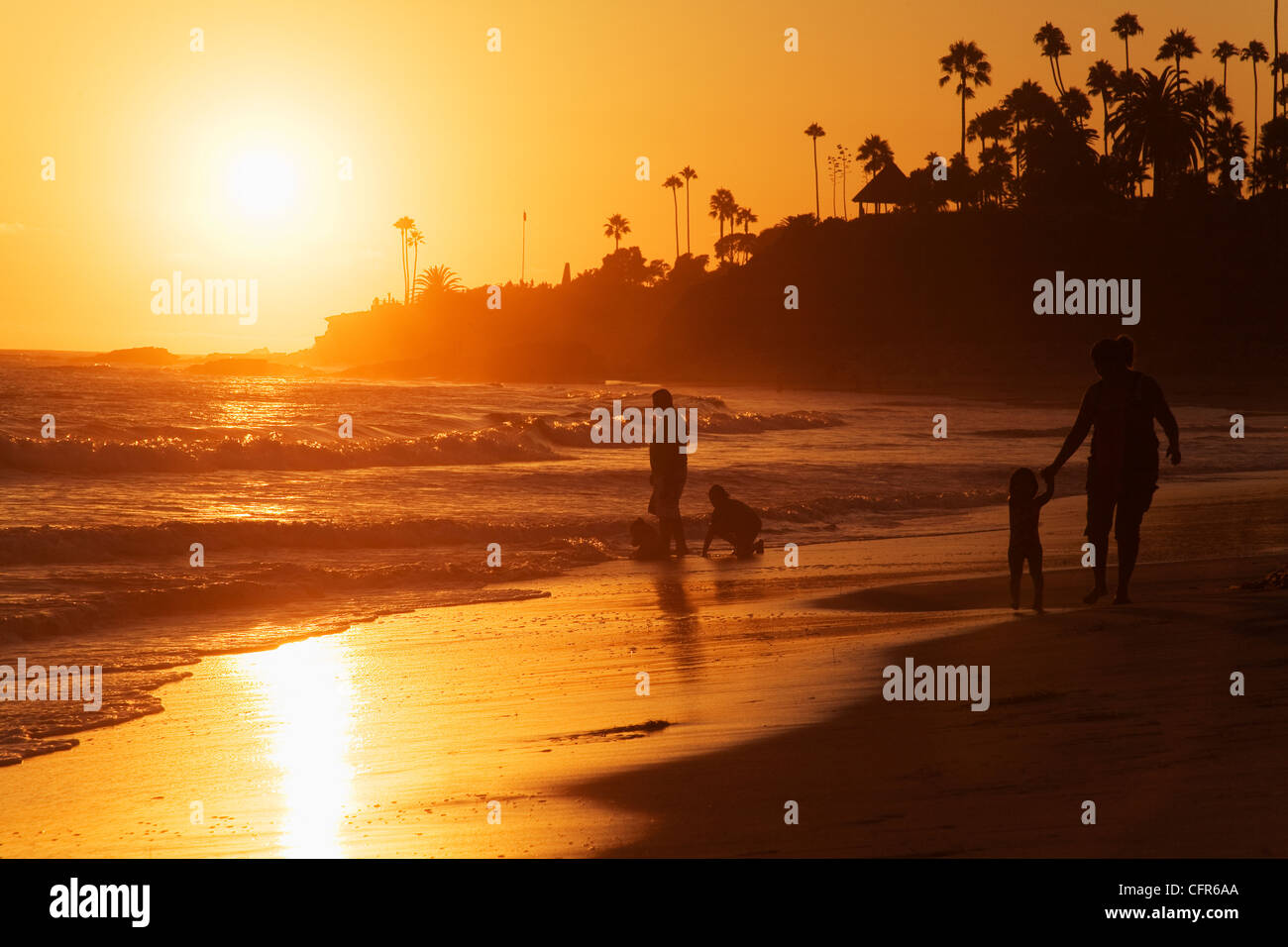 Laguna Beach, Orange County, California, United States of America, North America Stock Photo