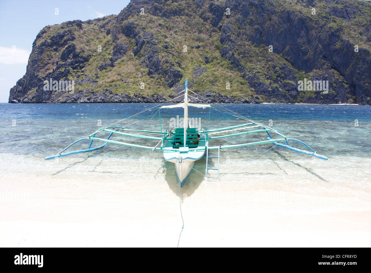 Pristine beach - Stock Image