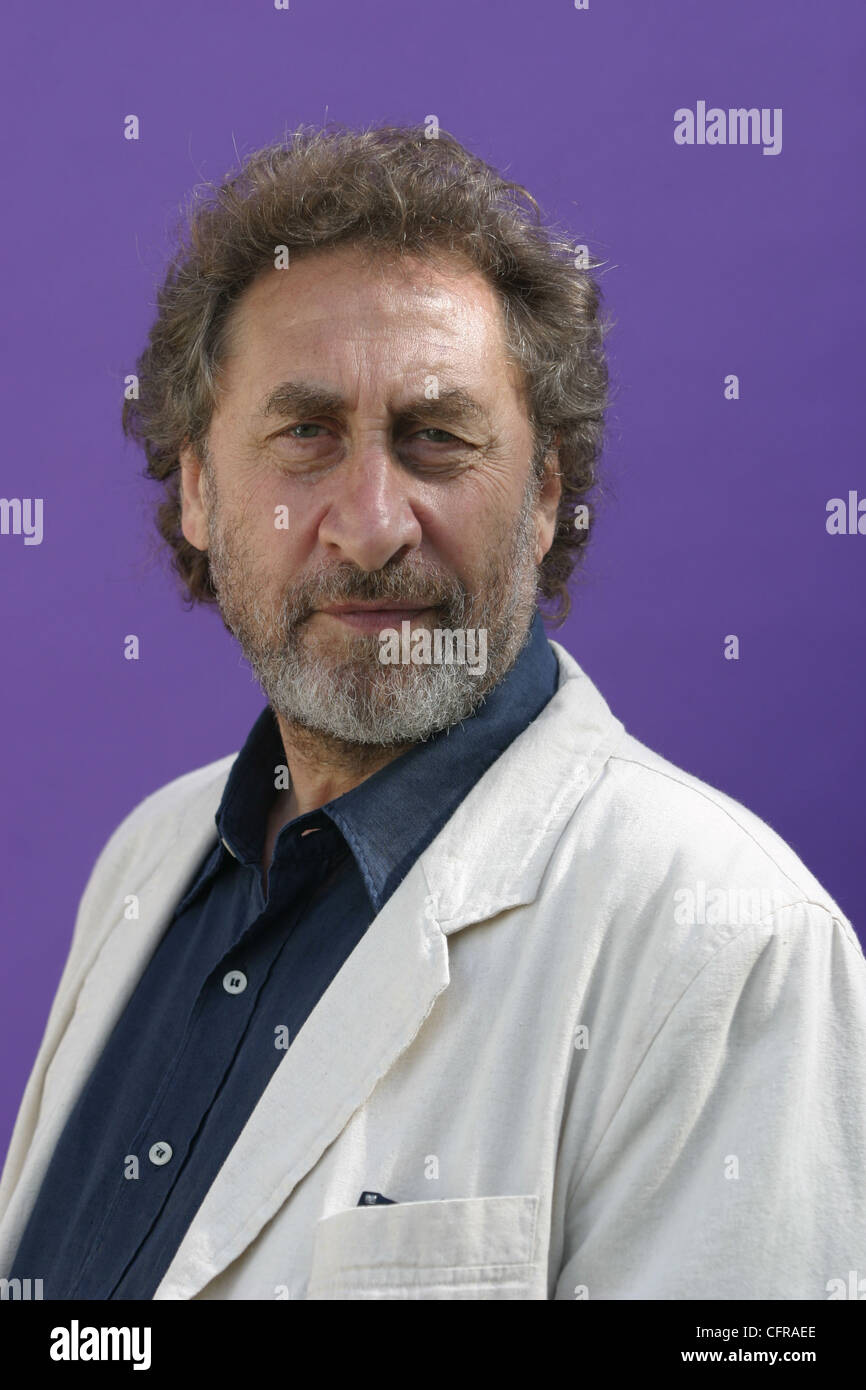 Howard Jacobson (born 1942) is a Man Booker Prize-winning British Jewish author and journalist. - Stock Image