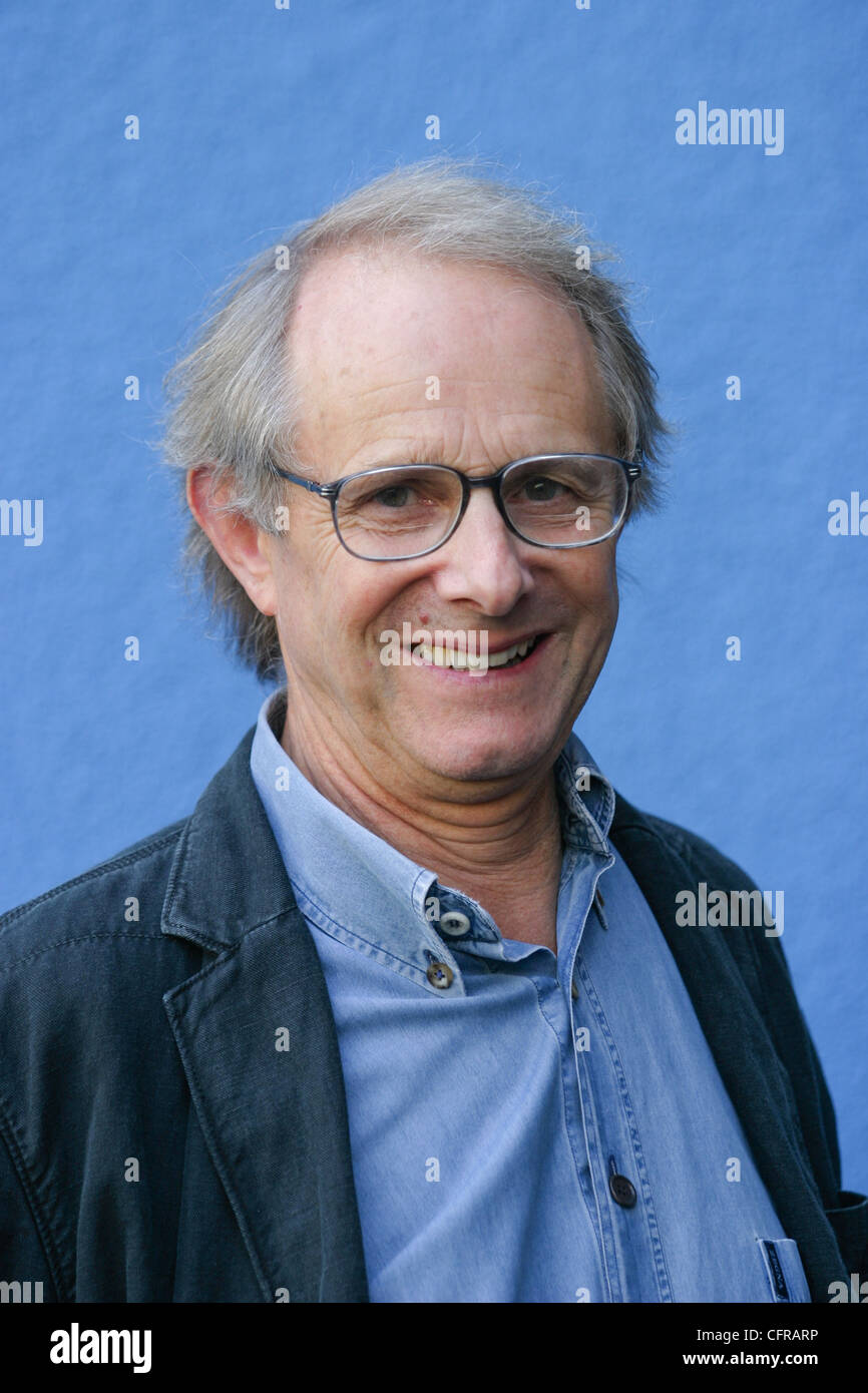 Photocall for film director Ken Loach and his new movie 'Ae Fond Kiss', at Edinburgh International Film - Stock Image