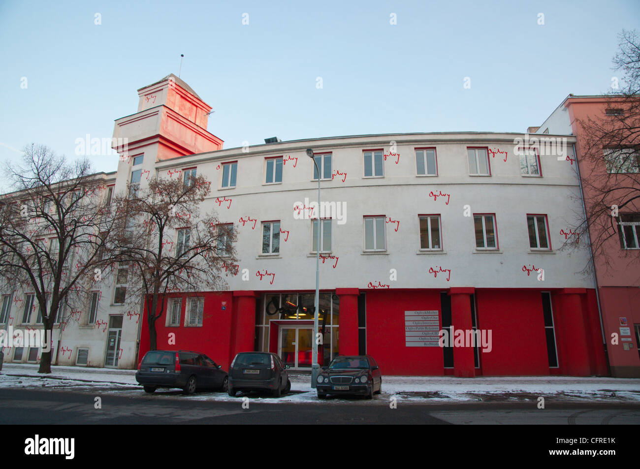 offices ogilvy. Ogilvy Company Offices In Converted Former Industrial Buildings Holesovice  District Prague Czech Republic Europe Ogilvy U