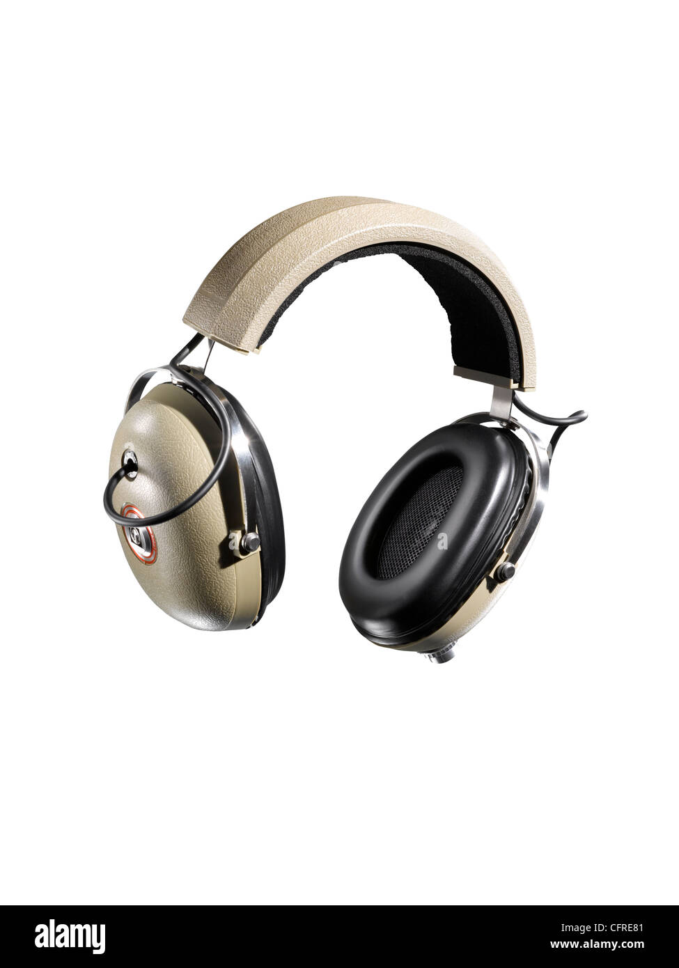 Headphones shot as a cut out Stock Photo