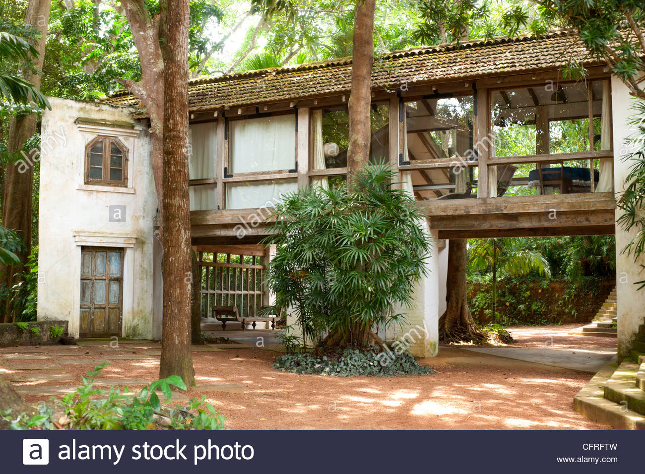 Tropical Home Floor Plans Lunuganga Estate Of Geoffrey Bawa 20th Century Tropical