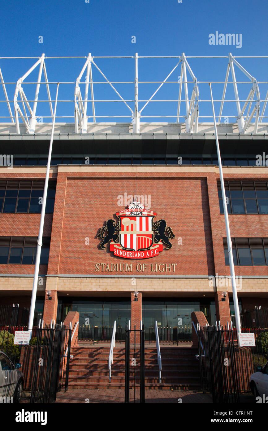 Stadium of Light Sunderland England - Stock Image