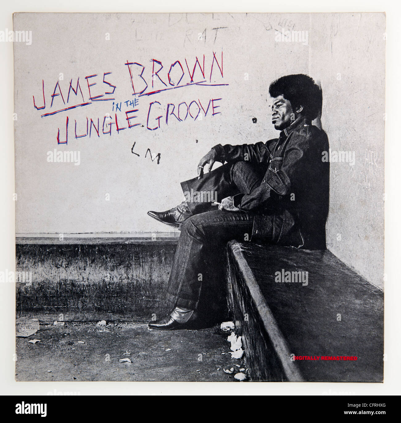 James Brown In The Jungle Groove album cover Stock Photo: 44159544