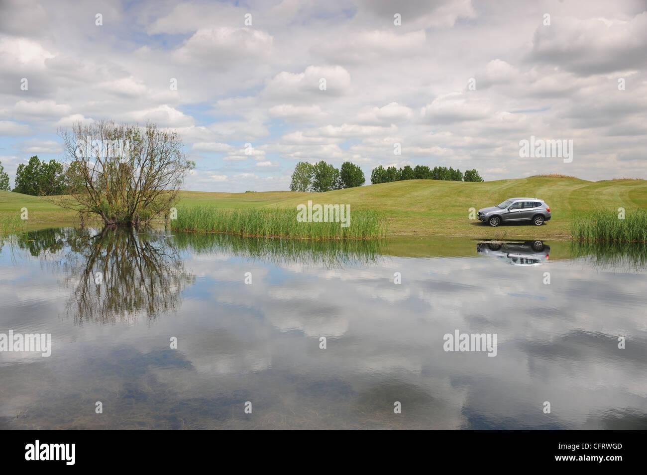 off road adventure - Stock Image
