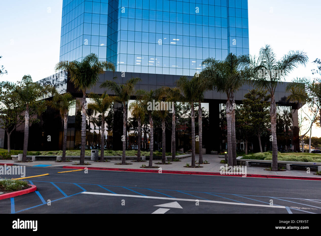 High rise building for digital background - Stock Image