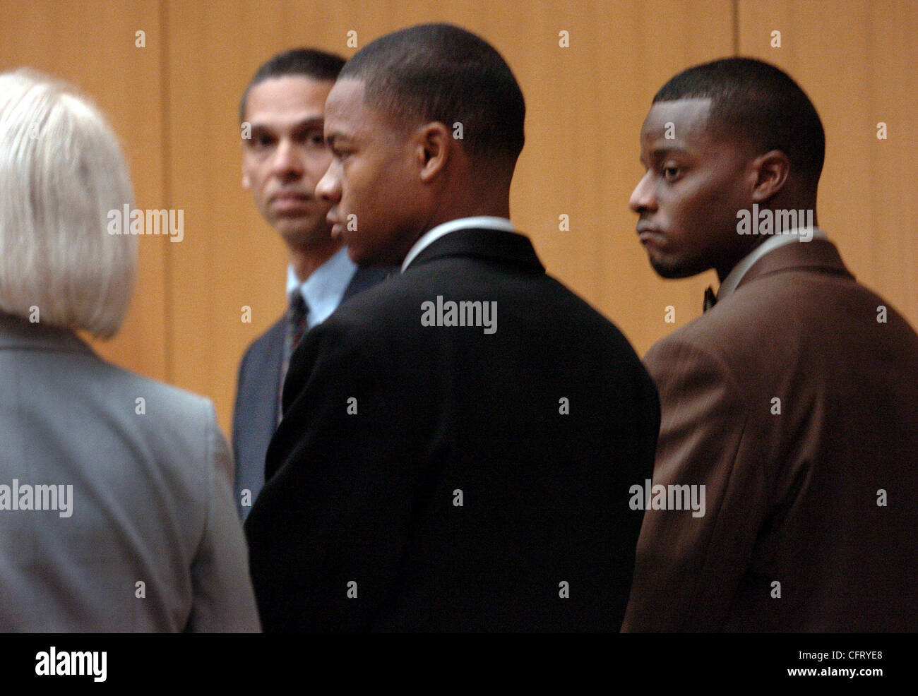 Photo of Yusuf Bey IV left, and Kahlil Raheem, right, Two of six ...