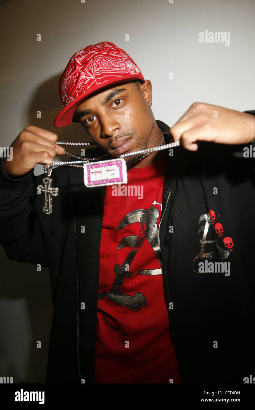 Young Joker at the 2006 Mixtape awards at the Apollo Theater on December 8, 2006. - Stock Image