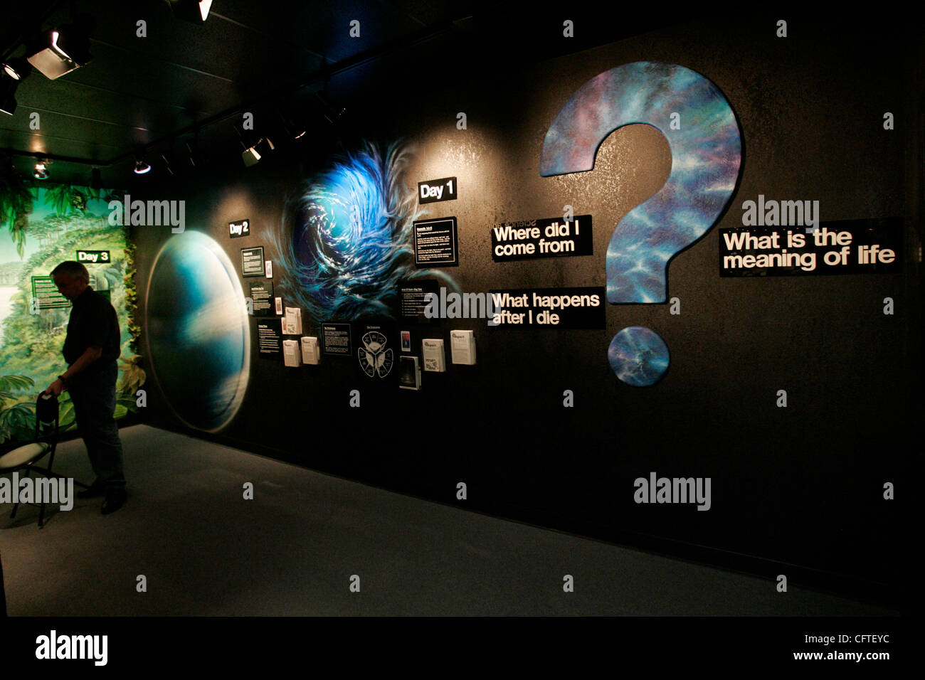 January 11 2007 Santee The Museum Of Creation And Earth History In Santee Is The Only Museum In The City Of Santee This Is The Beginning Room Of The