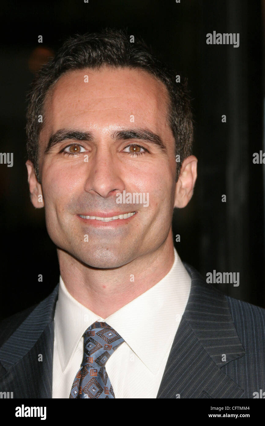 Jan 18, 2007; Hollywood, California, USA;  Actor NESTOR CARBONELL   at the 'Smokin Aces' World Premeire - Stock Image