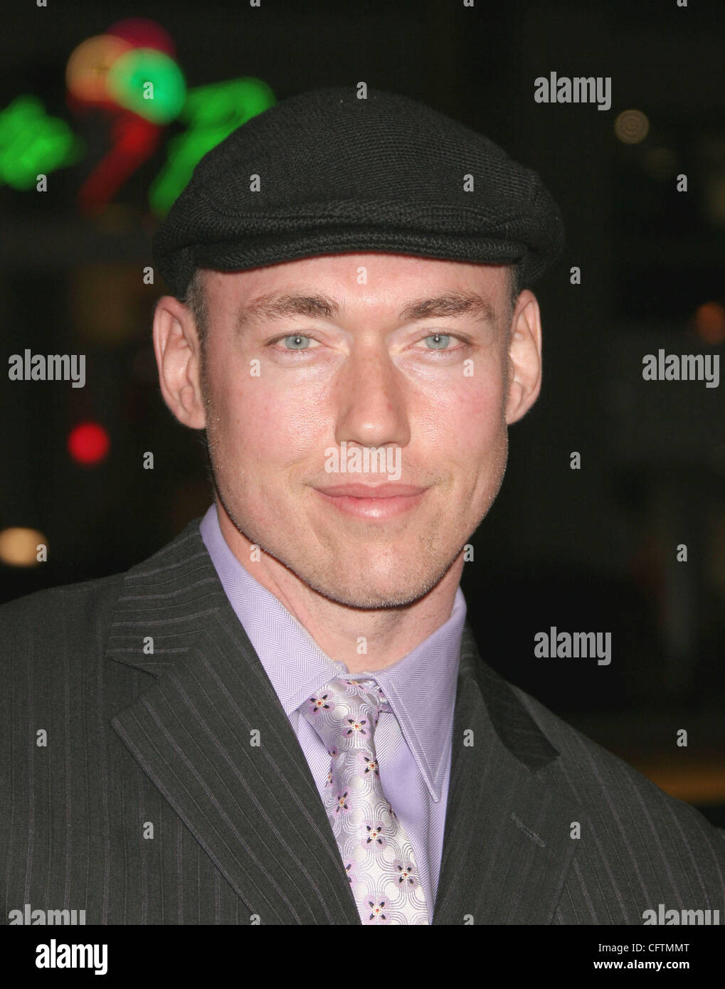Jan 18, 2007; Hollywood, California, USA;  Actor KEVIN DURAND    at the 'Smokin Aces' World Premeire held - Stock Image