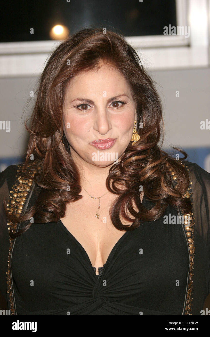 Jan 18, 2007; Hollywood, California, USA;  Actress KATHY NAJIMY    at the 'Smokin Aces' World Premeire held - Stock Image