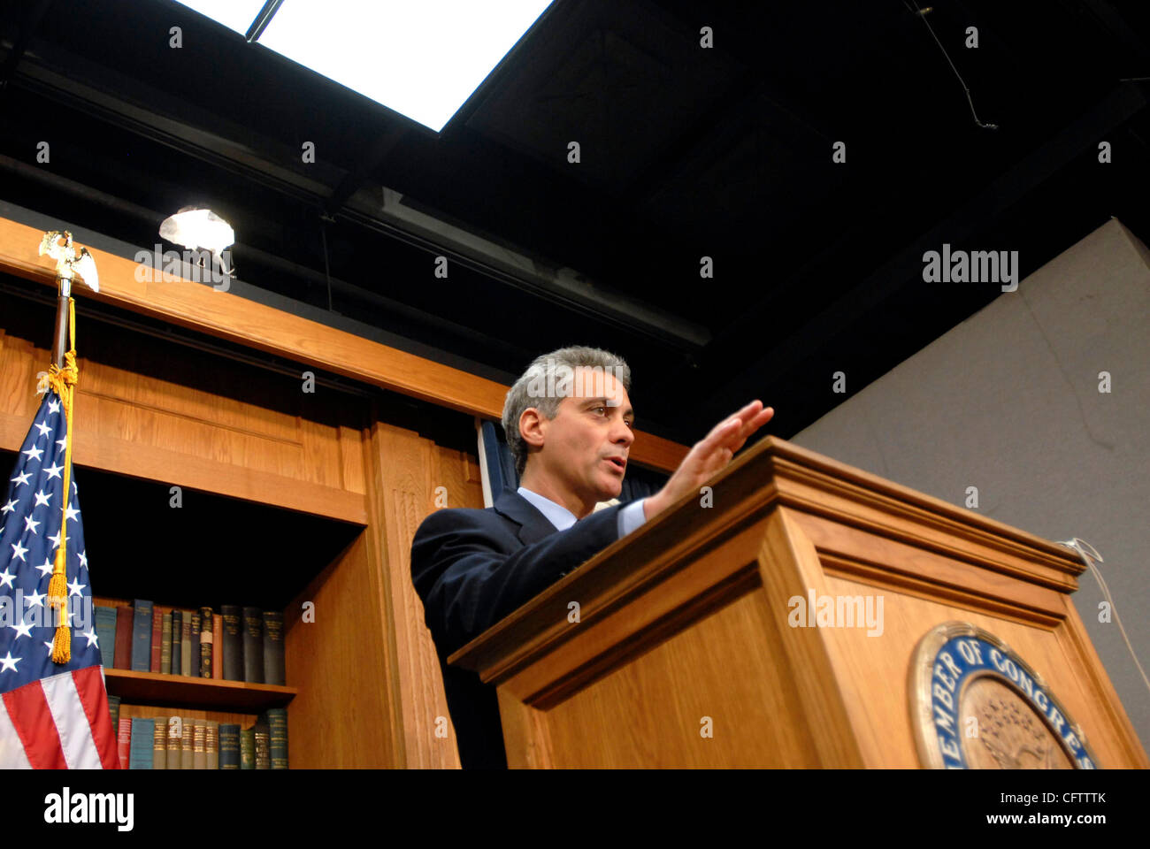 State Of Union Jan 23 2007 >> Jan 23 2007 Washington Dc Usa Congressmen Rahm Emanuel D Il