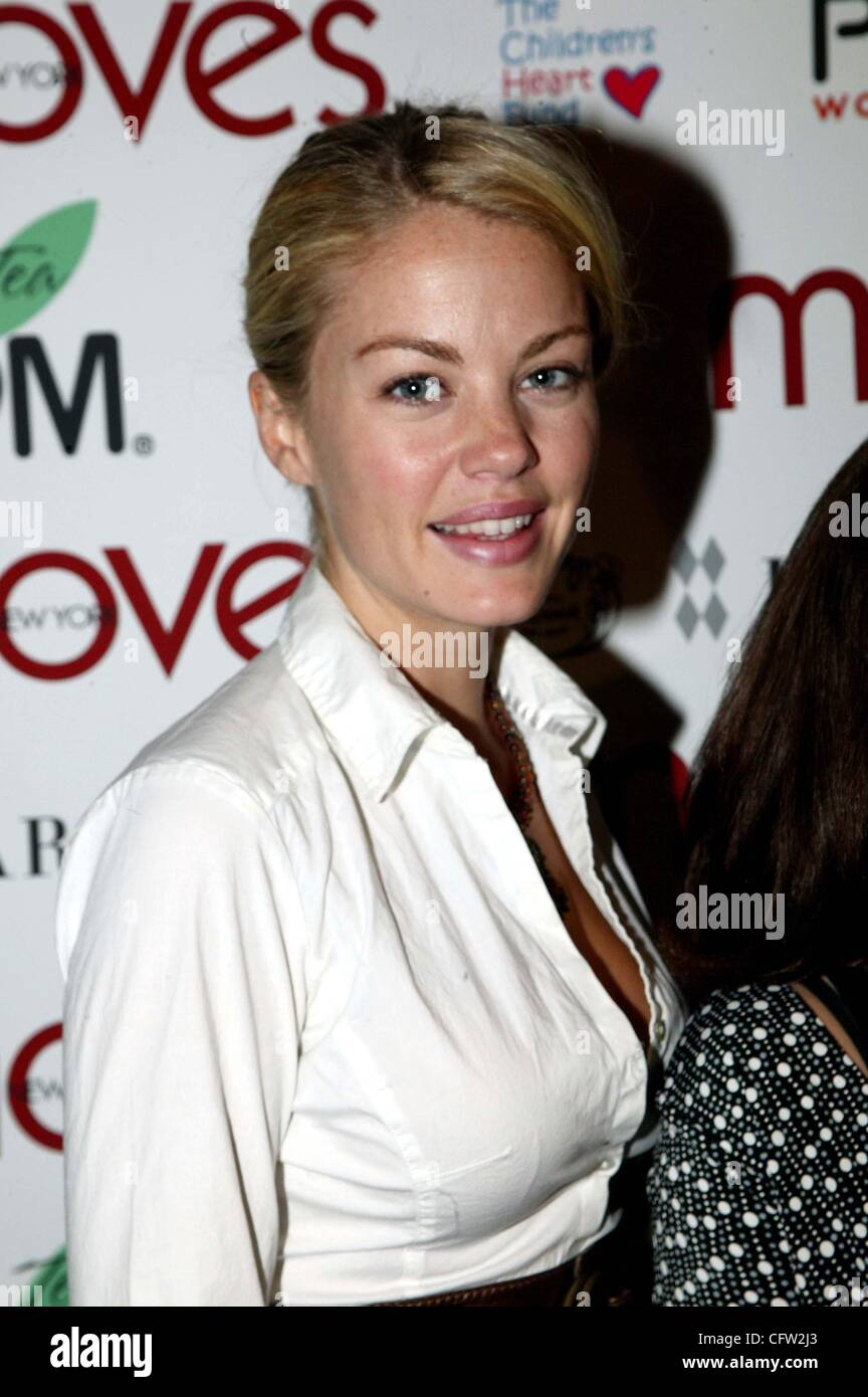 Feb. 1, 2007 - New York, New York, U.S. - Bree Williamson from the soap ''One Life To Live '' at a Fashion Week Stock Photo