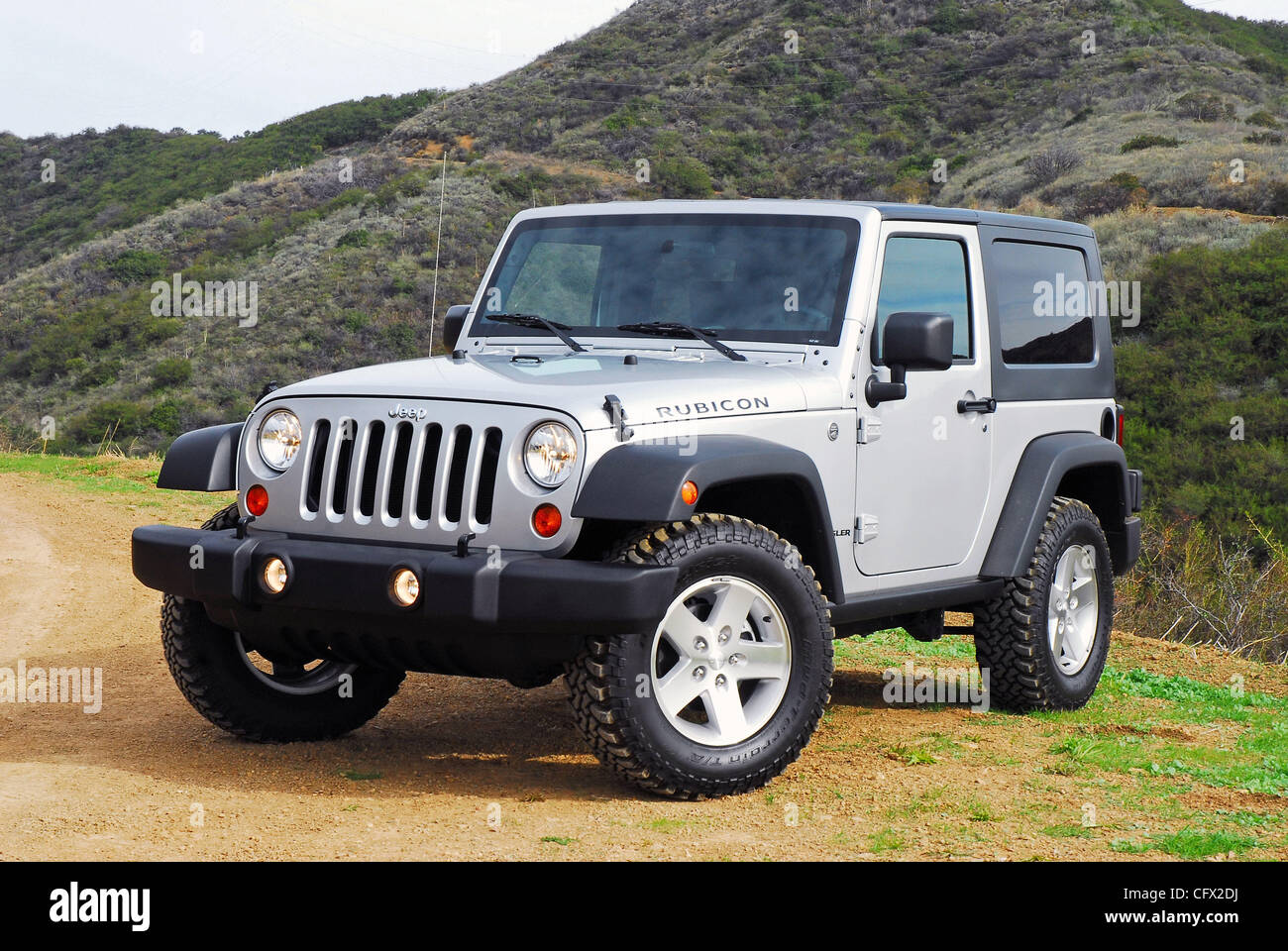 Charming Beauty Right 2007 Jeep Wrangler Rubicon Two Door   Stock Image