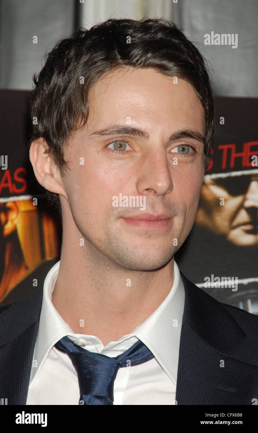 Mar 26, 2007 - New York, NY, USA -   MATTHEW GOODE at a screening 'The Lookout' hosted by Elie Tahiri and - Stock Image