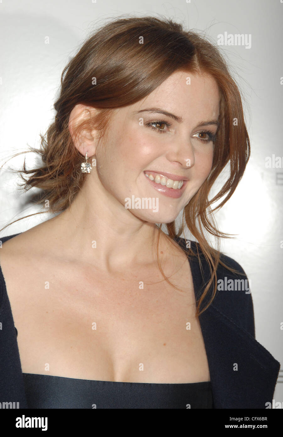 Mar 26, 2007 - New York, NY, USA - ISLA FISHER at a screening 'The Lookout' hosted by Elie Tahiri and Miramax - Stock Image